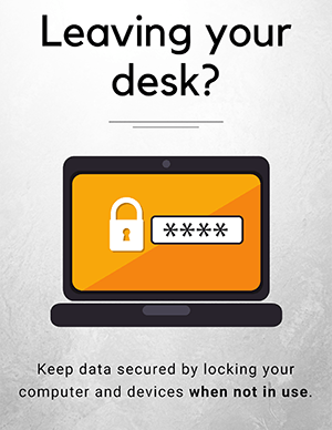 Secure Workplace Posters